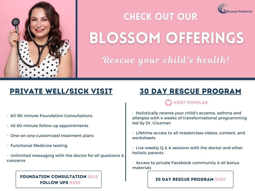Blossom Program Details